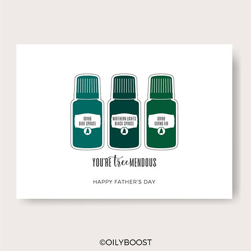 Essential Oil June & Father's Day Cards - Use coupon code 'POP'