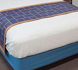 Reversible Hello Sunshine Block Bedscarf