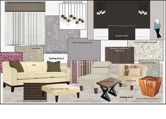FF&E Design Board
