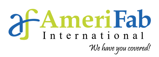 AmeriFab Logo with color logo amp black