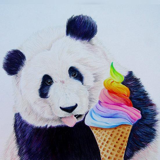 """"""" Sweet Treat"""" original artwork"""
