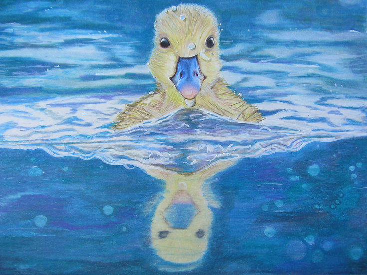 """Duckie"" original artwork"