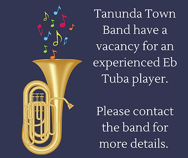 Tanunda Town Band are currently looking