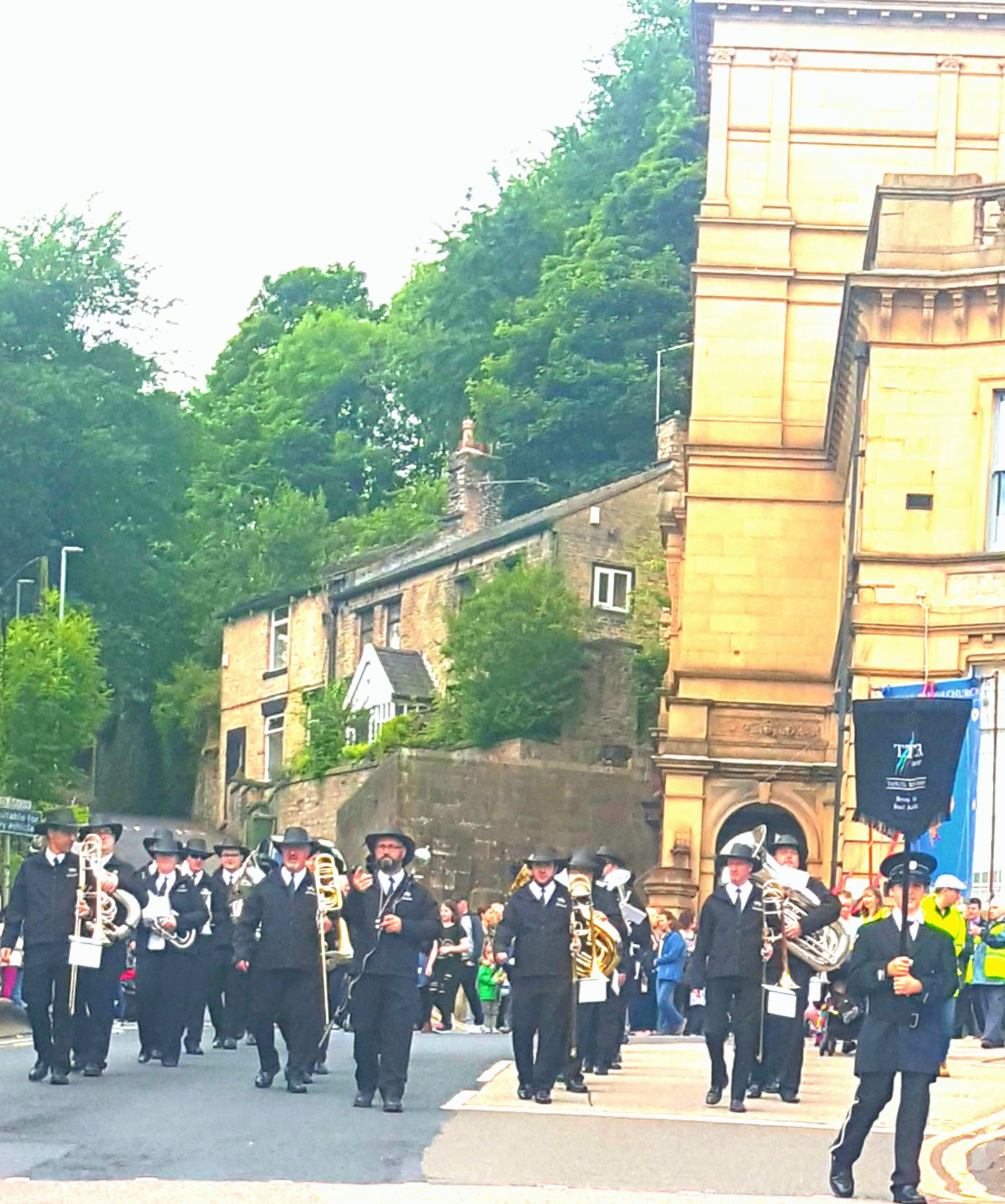 Whit Friday Mossley 2017