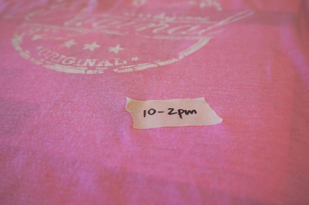 Original Pink in a Blue World Tee from Three & Me
