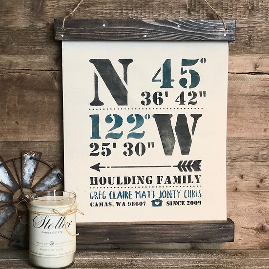 Closing Gift | Canvas Sign