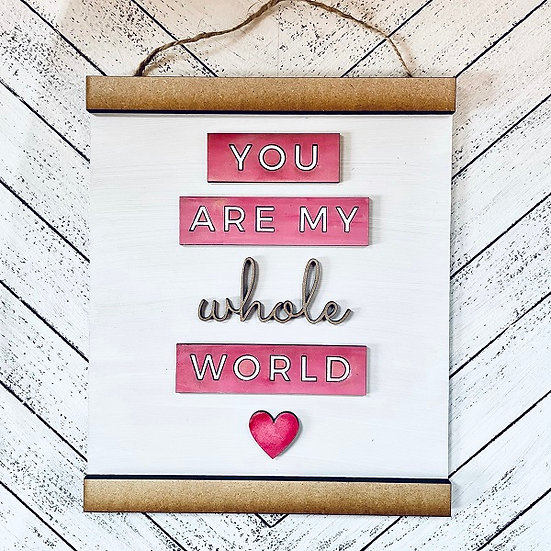 DIY Art Kit | You're My World