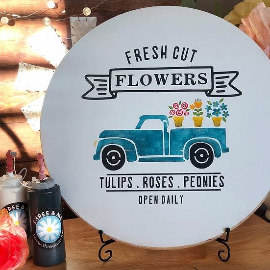 DIY Art Kit | Flower Truck