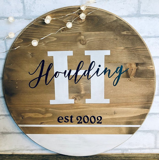 Closing Gift | Family Sign