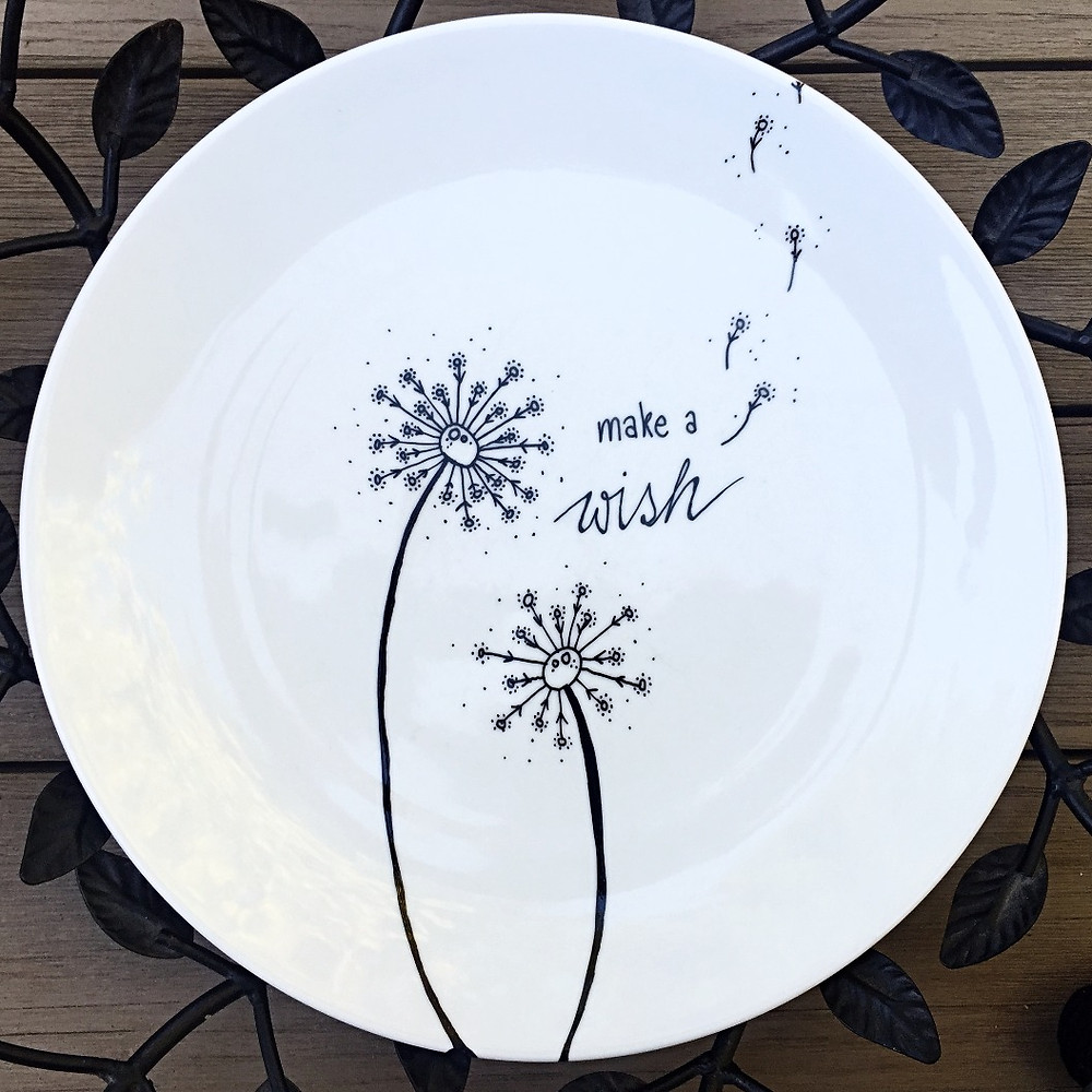 Wish Plate by Three & Me