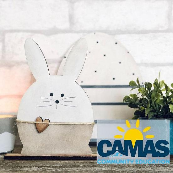 Camas Community Ed | Egg & Bunny