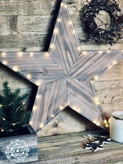 Rustic Barn Star