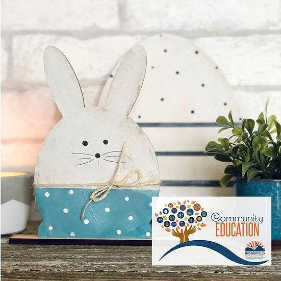 Ridgefield Community Ed | Egg & Bunny
