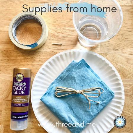 Grab extra supplies