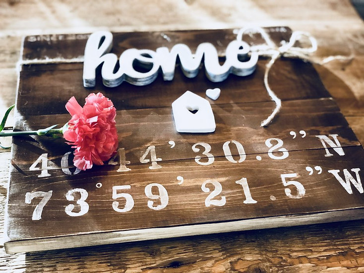 Closing Gift | Home Coordinates