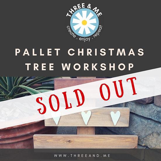 Pallet Christmas Tree #2