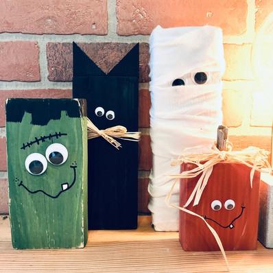 Little Wood Monsters
