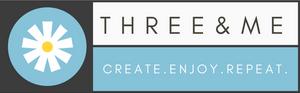 www.threeand.me logo