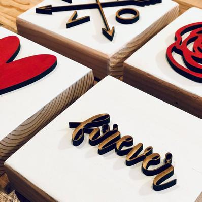 Valentine's Mini Blocks