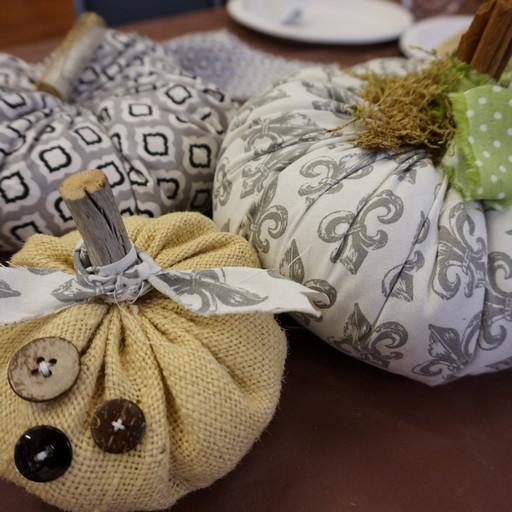 Pretty Pumpkins by THREE & ME