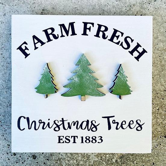 Shop | Christmas Tree Farm Mini Sign