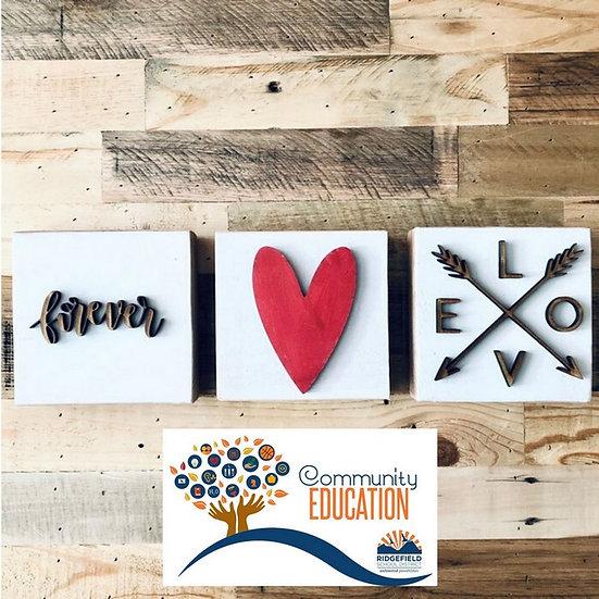 Ridgefield Community Ed | Valentine's Minis.