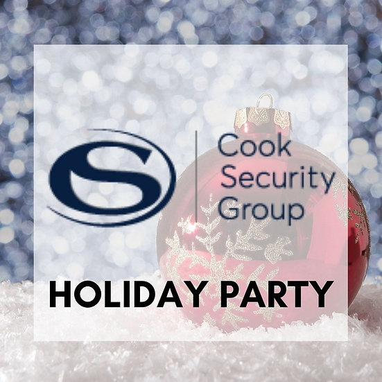 Private Event | Cook Security Group