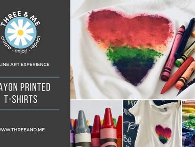 Crayon Printed T-Shirt