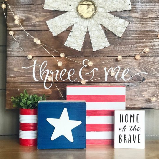 DIY Art Kit | Flag Minis