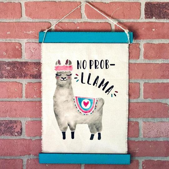 DIY Art Kit | Llama