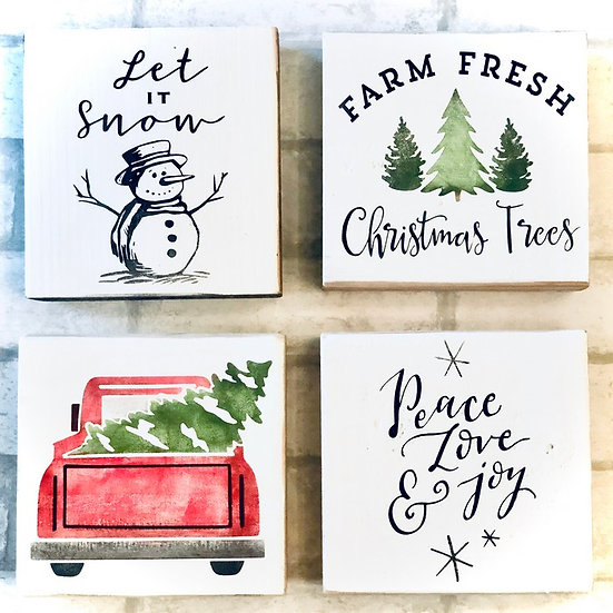 DIY Art Kit | Christmas Minis