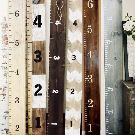 Growth Chart Ruler