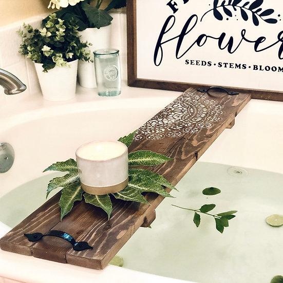 DIY Art Kit  | Bathtub Tray