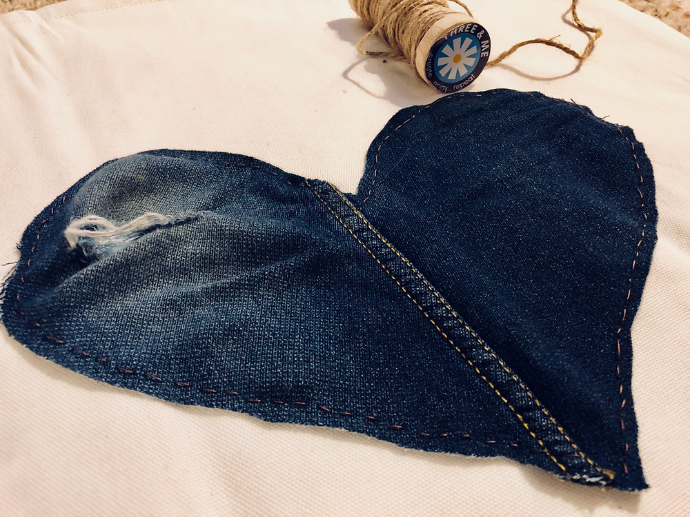jeans hearts by www.threeand.me