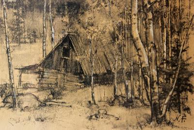 Fechin_Cabin in the Woods.jpg