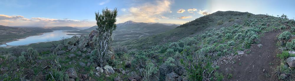View from Skyridge Peak trail