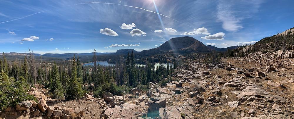 Ibantik Lake trail, Utah