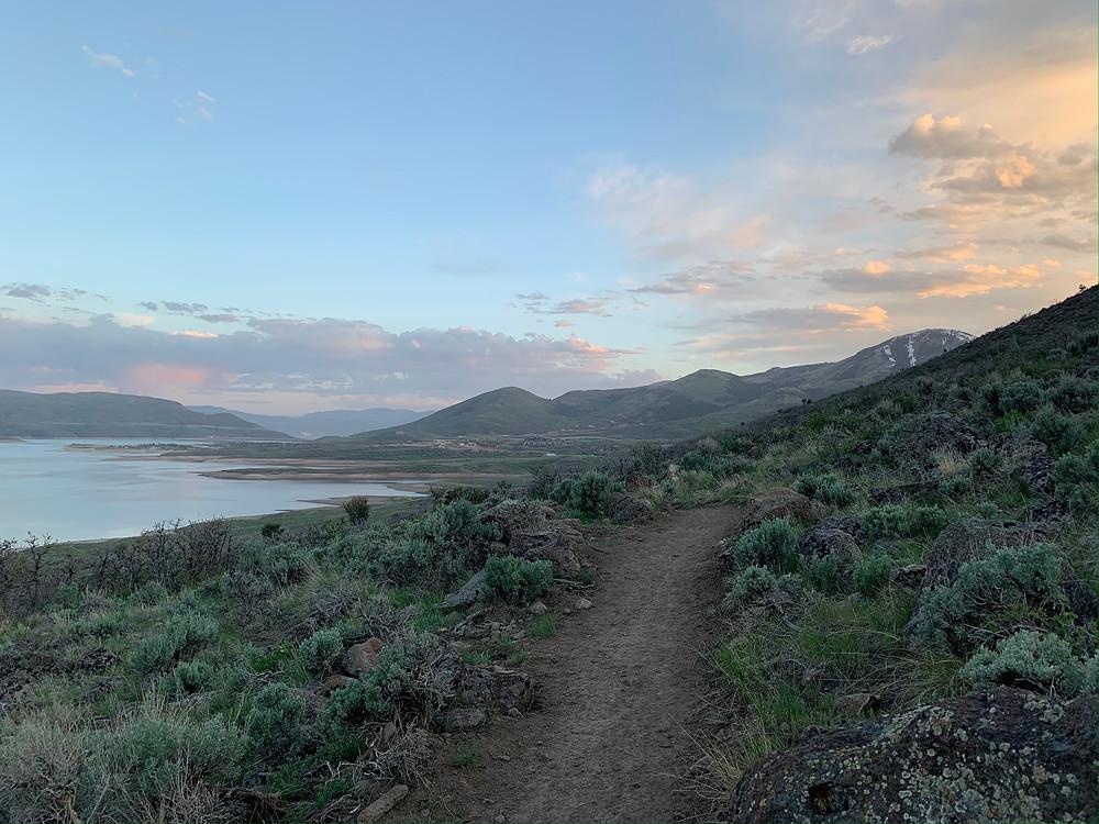 Skyridge Peak trail