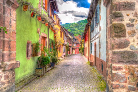 Picturesque Hamlets in France