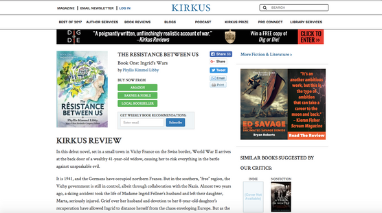 The Kirkus Review Page