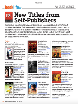 Publishers Weekly, Booklife