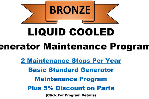 Liquid Cooled Bronze Pkg: 2 Maintenance Stops