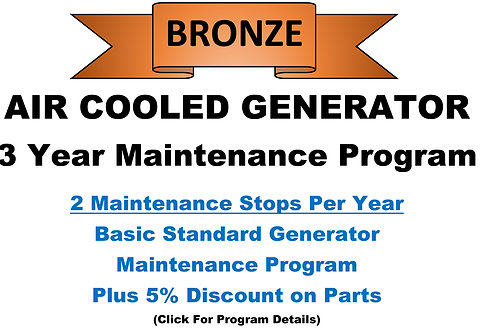 Air Cooled Bronze 3 Year Program