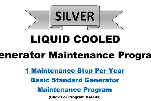 Liquid Cooled Silver Pkg: 1 Maintenance Stop/