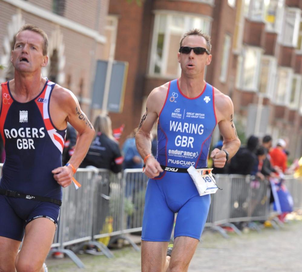 Jon Waring at the World Champs