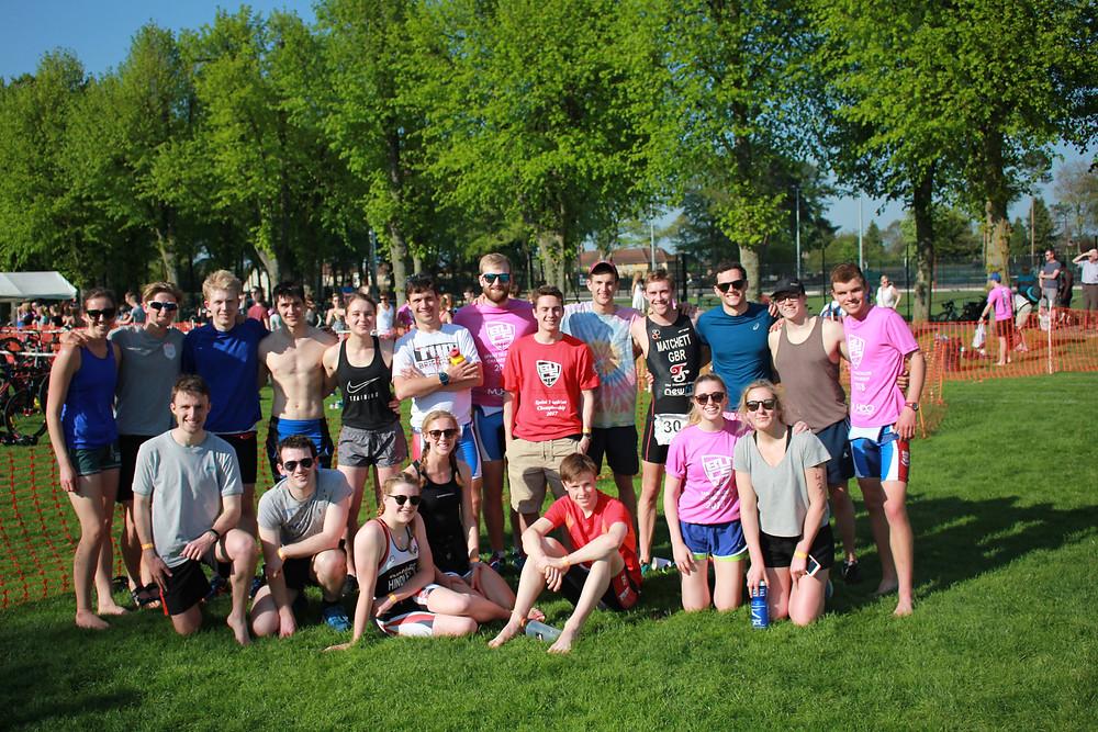 Bristol University Triathlon Club at BUCS Sprint Triathlon