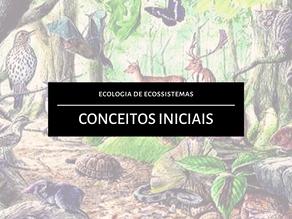 Ecologia de Ecossistemas: Conceitos Iniciais