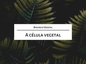 Estude para o mestrado comigo: A célula vegetal