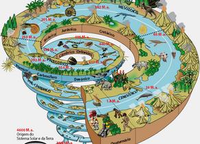 O tempo geológico: principais eventos biológicos das Eras
