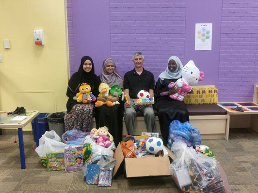Toys and Books Drive